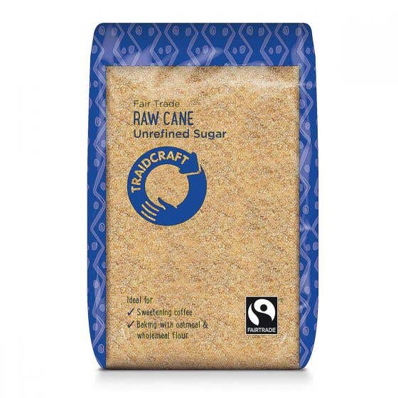 Traidcraft Raw Cane Sugar (6x500g) CASE