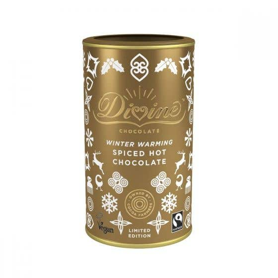 Divine Winter Spice Hot Chocolate Limited Edition CASE