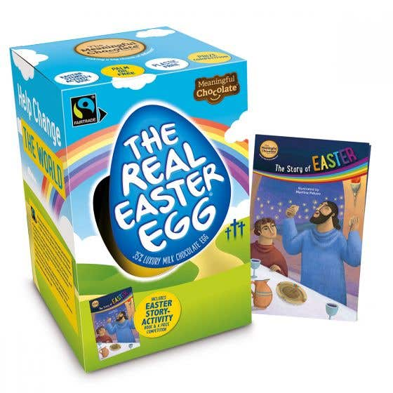 The Real Easter Egg Milk Chocolate (6x150g) CASE