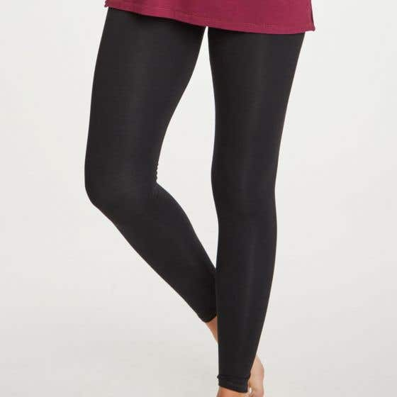 Thought Bamboo Mix Women's Black Leggings