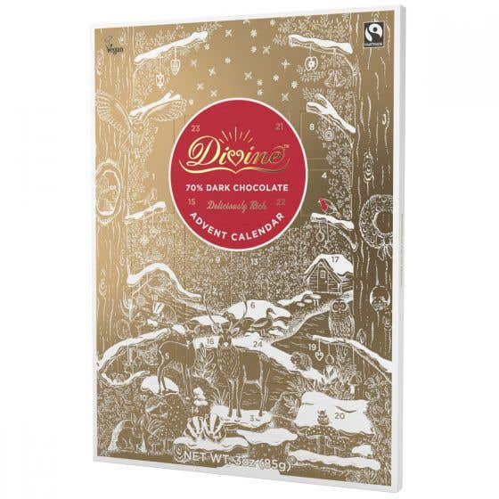 Divine Dark Chocolate Advent Calendar (85g)