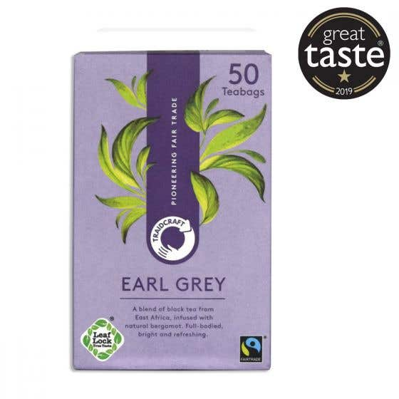 Traidcraft Earl Grey Tea Bags (50 bags)