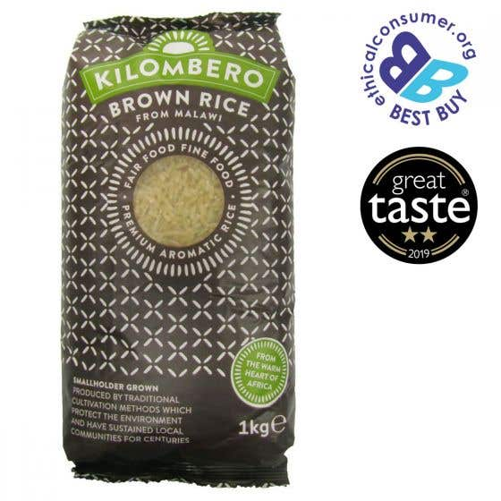 Kilombero  Brown Rice (1Kg) SINGLE