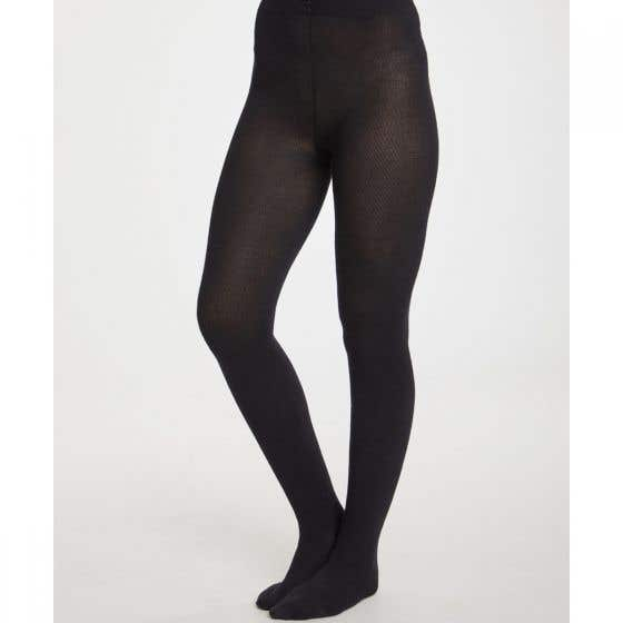Thought Black Super Soft Bamboo Women's Elgin Tights (Small)
