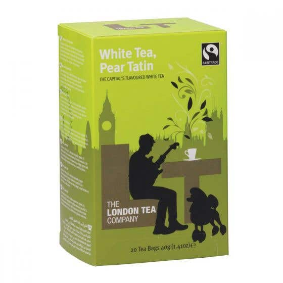 London Tea Company White Tea & Pear Tatin (44g) SINGLE