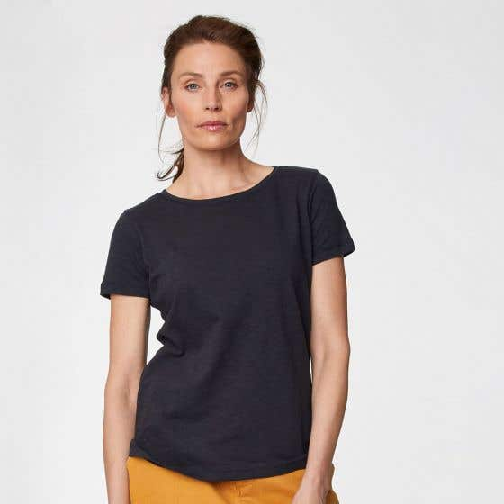 Thought Fairtrade and Organic Cotton Navy T-Shirt