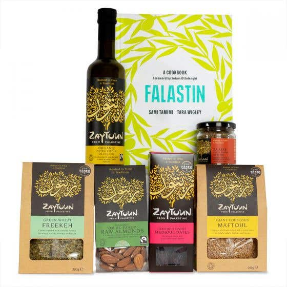 The Zaytoun Collection with Falastin Cookbook