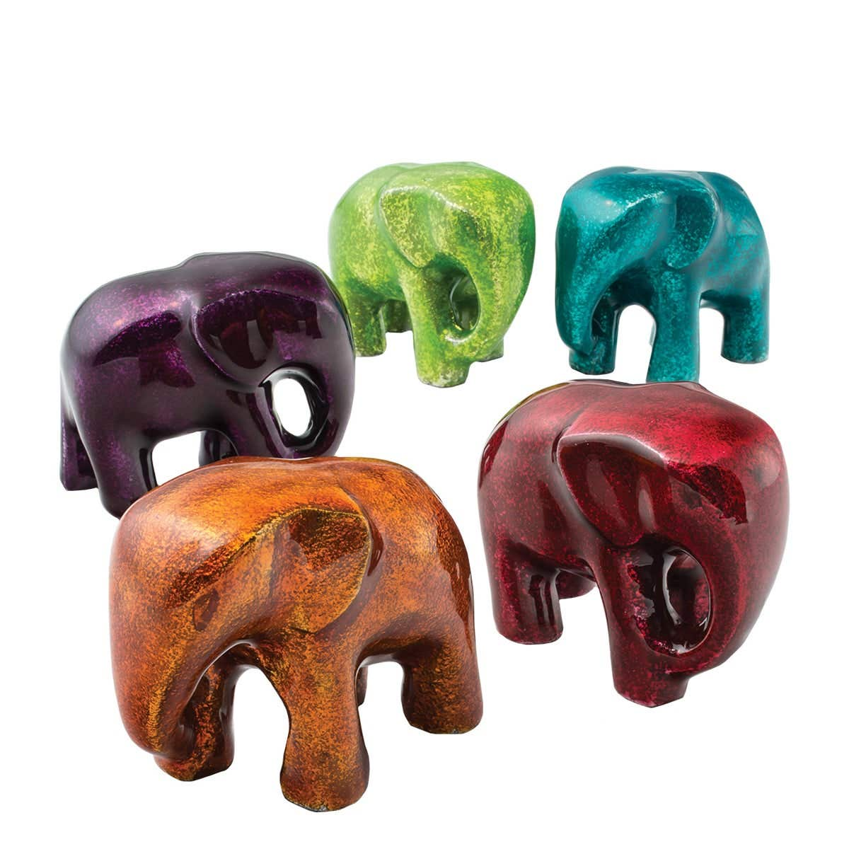 Small Elephant Paperweight