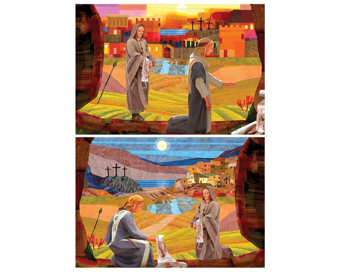 He is Risen Religious Easter Cards