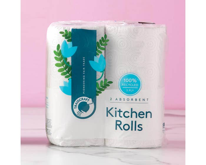 Together Green Recycled Kitchen Roll (2 pack)
