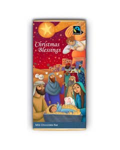 Meaningful Milk Chocolate Company Blessings Bar (80g)
