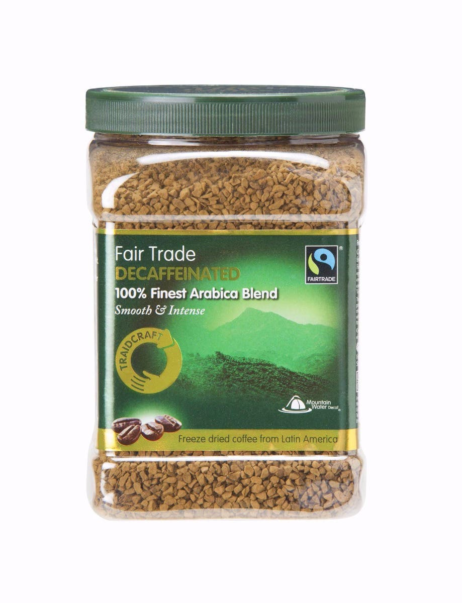 Traidcraft Freeze Dried Decaff Coffee (450g)