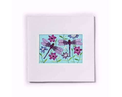 Two Dragonflies Card