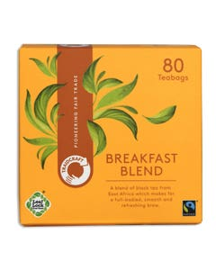 Traidcraft Fair Trade Breakfast Blend Tea Bags