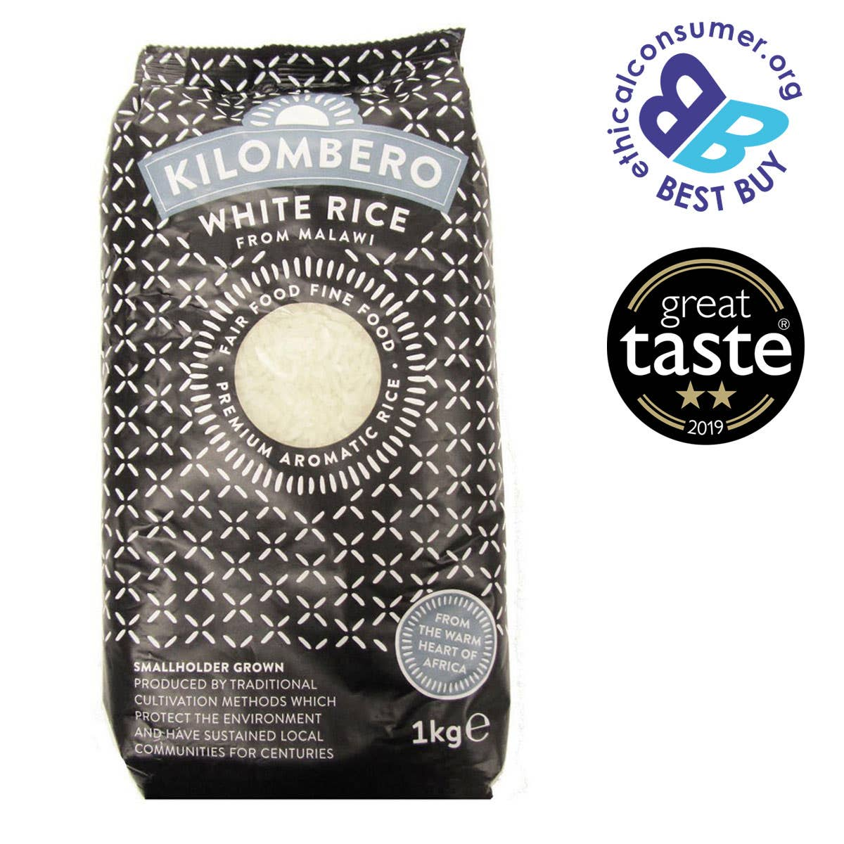 Kilombero White Rice (1Kg) SINGLE