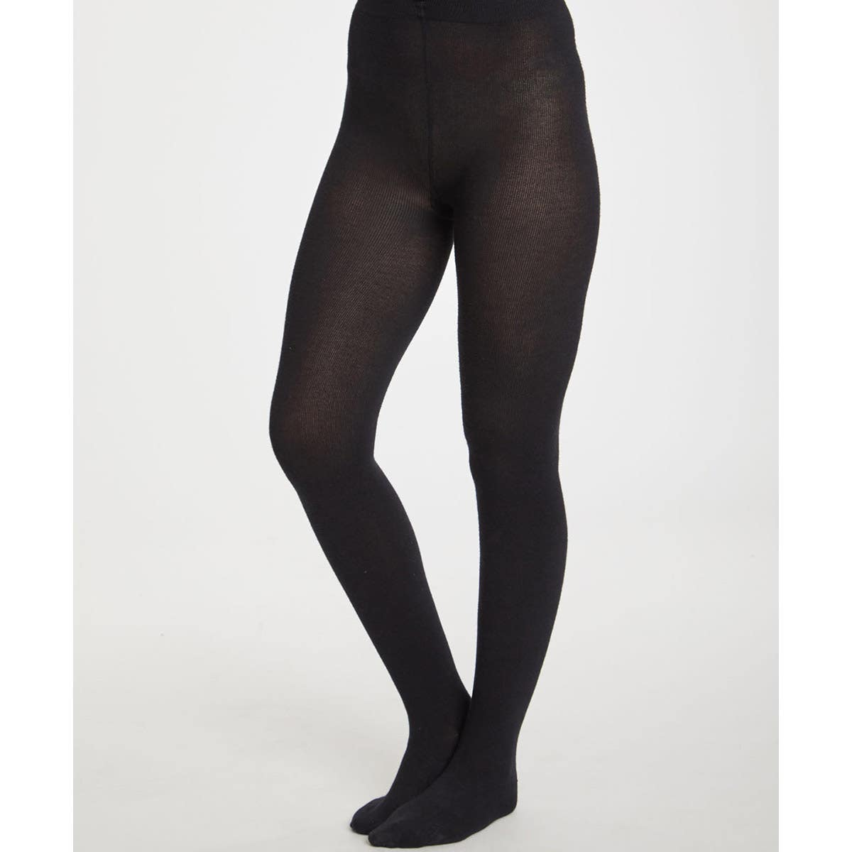 Thought Black Super Soft Bamboo Women's Elgin Tights (Large)