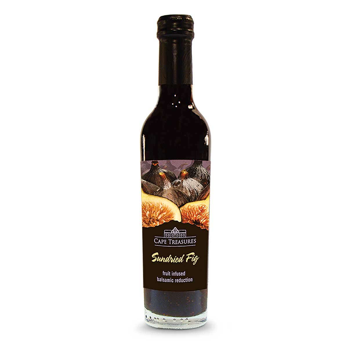 Cape Treasures Sundried Fig Infused Balsamic Reduction (250ml)