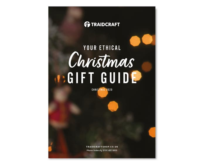 Traidcraft Christmas Gift Guide 2020 (up to 10 free)