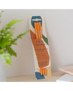 Three Pack Recycled Clementine Pencils