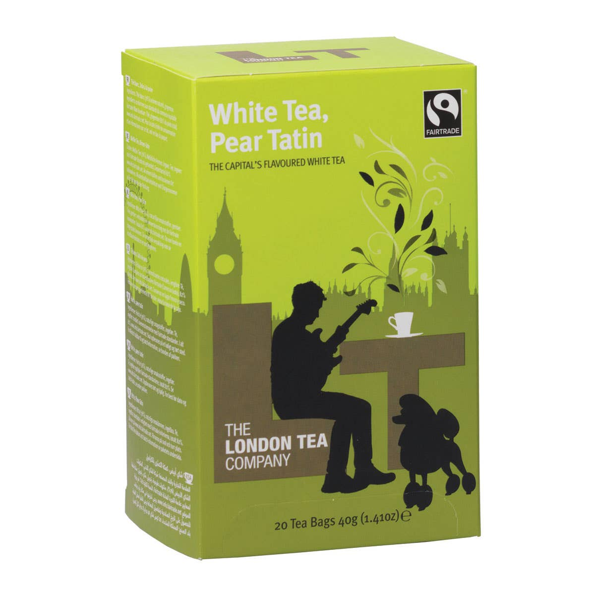London Tea Company White Tea & Pear Tatin (20 bags) SINGLE