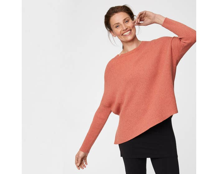 Thought Coral Organic Cotton and Wool Blend Kate Jumper