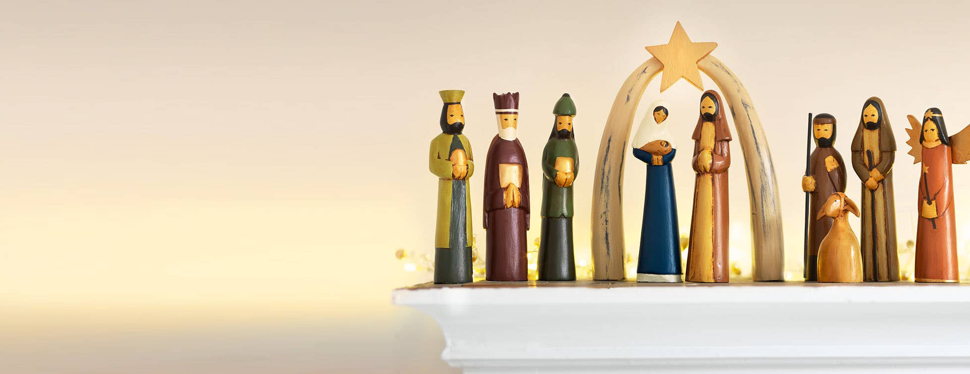 Handcrafted Nativity Sets