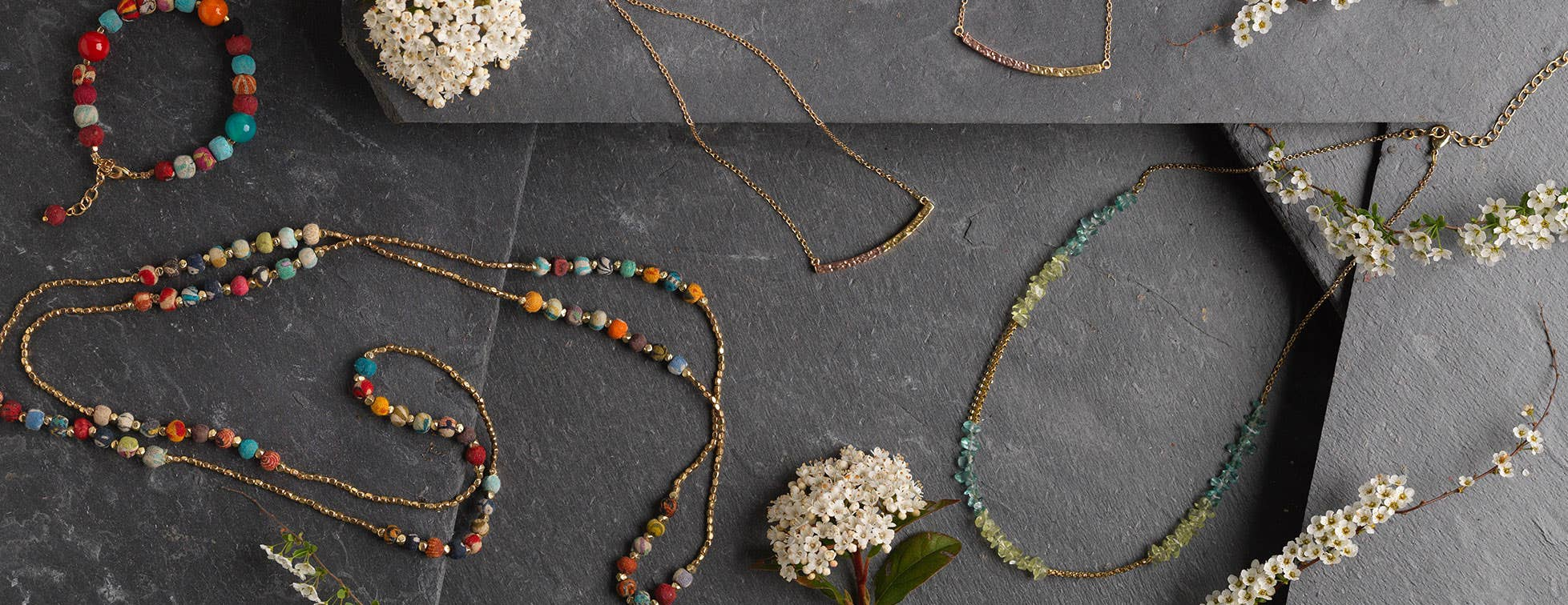 Fair trade, hand crafted jewellery