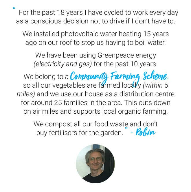World Environment Day quote from Traidcraft's CEO, Robin