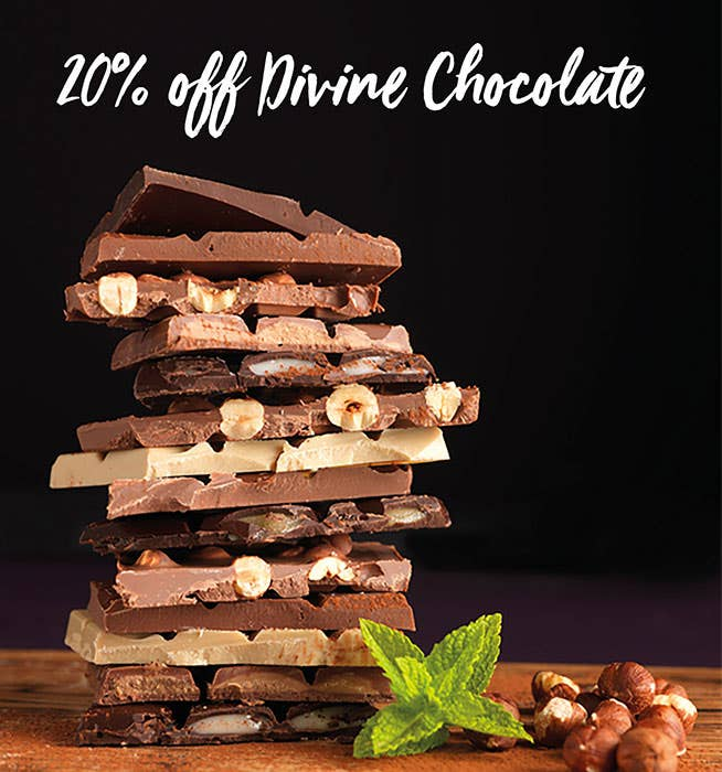 Divine Chocolate Sale