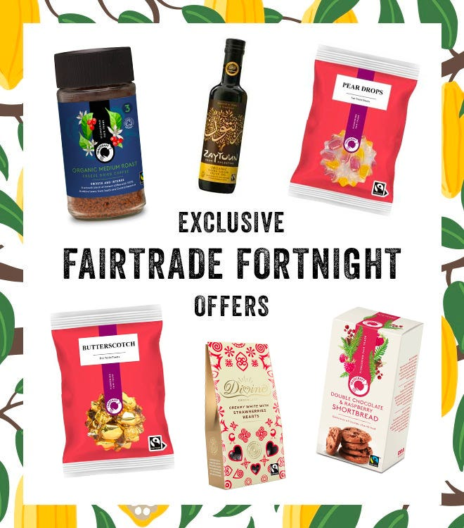 Fairtrade Fortnight Offers