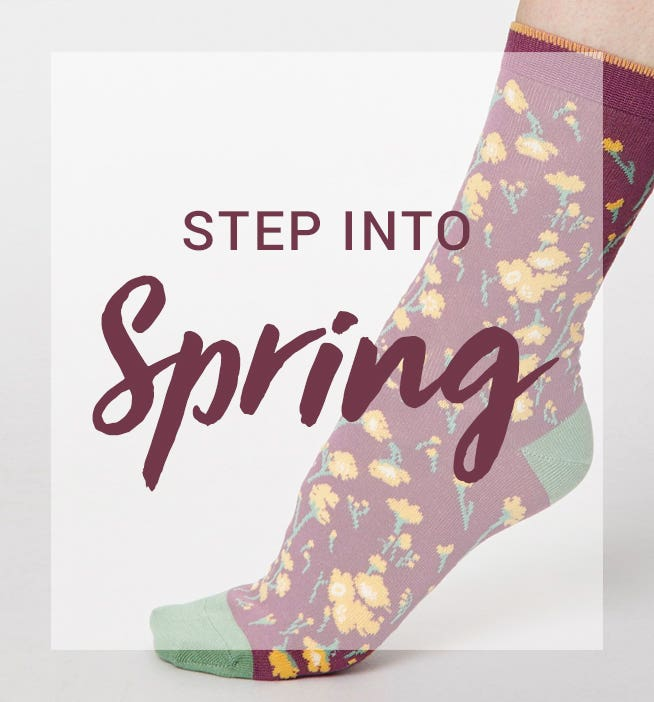 Step into Spring