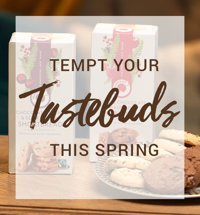 Tempt your taste buds this Spring