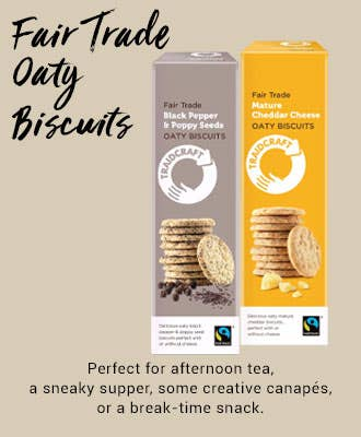 Traidcraft Oaty Biscuits with FairPalm sustainable palm oil