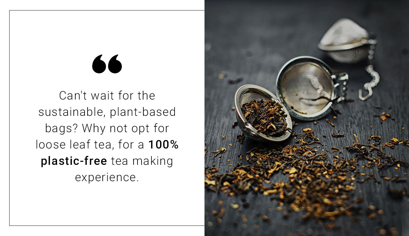 Traidcraft loose leaf tea quote