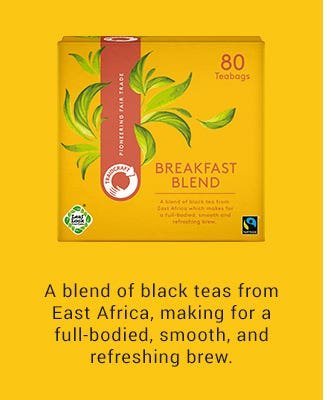 Traidcraft Breakfast Blend Tea