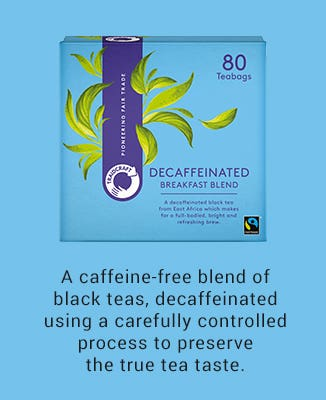 Traidcraft Decaffeinated Breakfast Blend