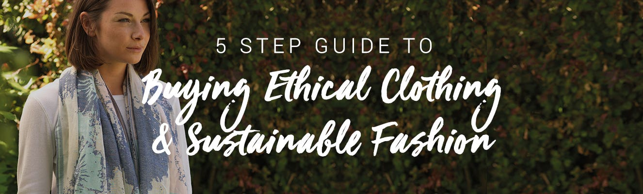 5 step guide to buying sustainable clothing