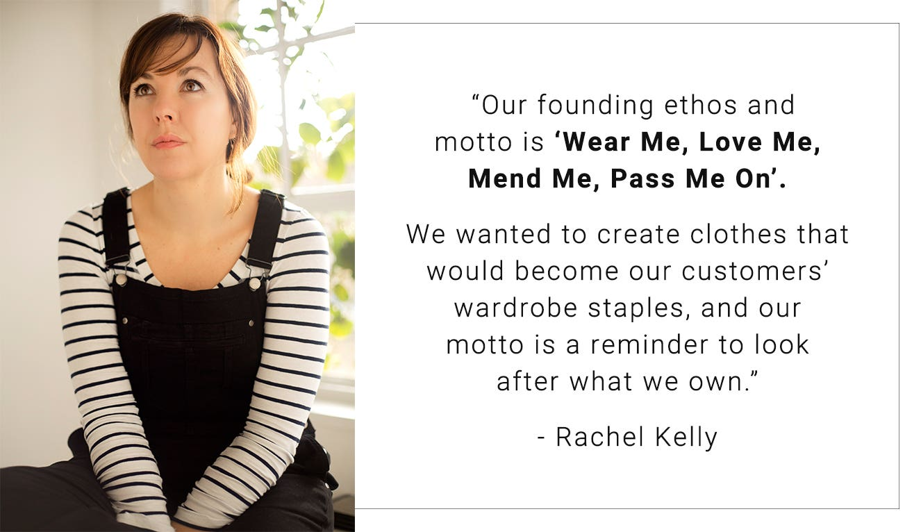 An interview with Thought co-founder, Rachel Kelly